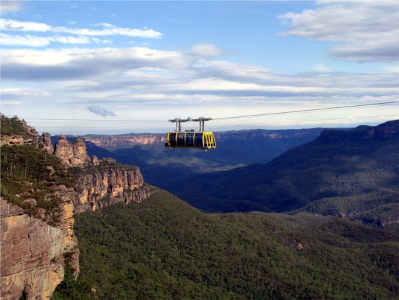sydney blue mountains train - photo#33